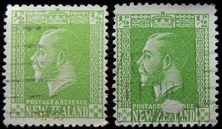 Nowa Zelandia 1/2D Jerzy V
