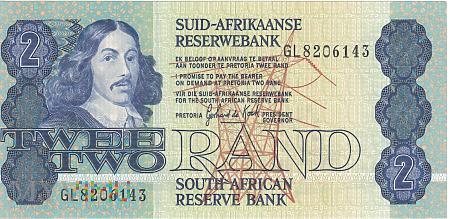 Republika Południowej Afryki - 2 randy (1990)