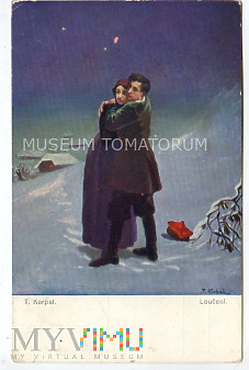 Korpal - Pożegnanie - On i Ona - obieg 1917