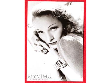 Marlene Dietrich Pocztówka TUSHITA Niemcy