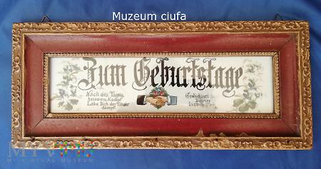"""""""Zum Geburstag""""- na szkle malowane..."""
