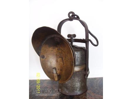 LAMPA GÓRNICZA KARBIDOWA TYP 905a /1 rok 1910