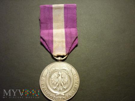 Srebrny Medal za Długoletnią Służbę