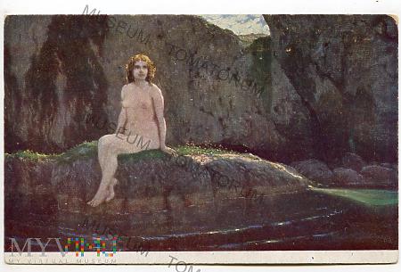 Lautenschläger - Kąpiąca się nimfa