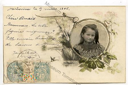 Pocztówka artystyczna 1906