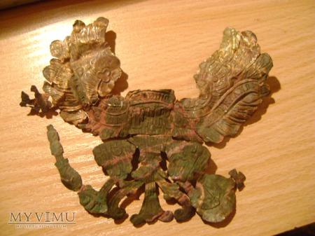 pruski orzeł z pickelhaube