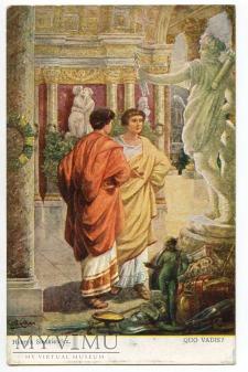Quo Vadis - Petroniusz i Winicjusz - Rosler