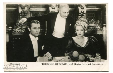 Duże zdjęcie Marlene Dietrich Filmshots Film Weekly zdjęcie