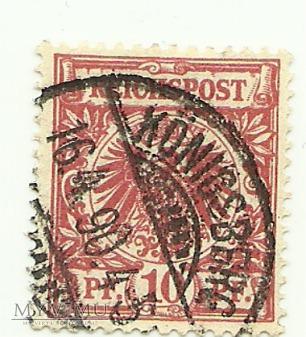 10 pfennig Konigsberg 1890 r.