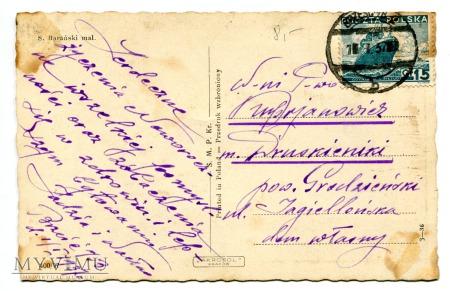 1937 S. Barański Kolędnicy Święta Noc Turoń