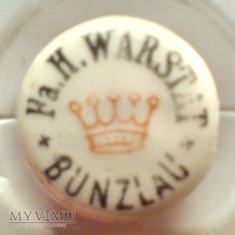Porcelanka Fa.H.WARSTAT Bunzlau - Bolesławiec