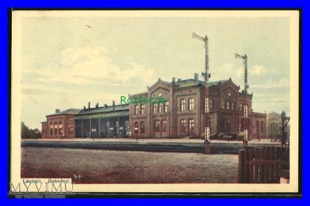 LUBAŃ Lauban Dworzec kolejowy