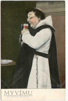 Monk Friar Mönch capucin zakonnik - degustacja 8