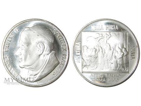 Jan Paweł II otwarcie Drzwi Świętych medal 2000