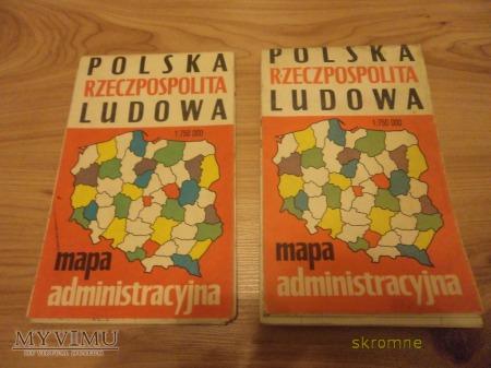Mapy Polskiej Rzeczpospolitej Ludowej