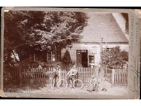 Stara fotografia kartonikowa #1