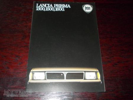 Prospekt LANCIA PRISMA