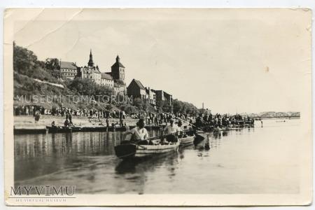 Grudziądz - Widok od Wisły - 1956