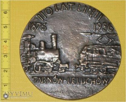 Medal kolejowy linii Tarnów - Leluchów
