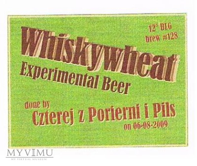 whiskywheat experimental beer