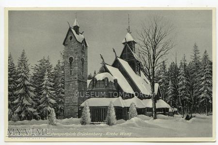 Karkonosze - Bierutowice, Świątynia Wang - ok.1935