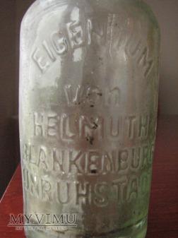 butelka Helmuth Blankenburg Unruhstadt / Kargowa