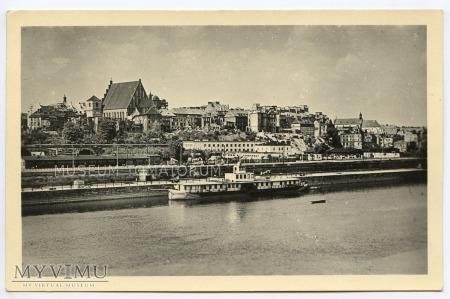 W-wa - Wisła - Stare Miasto - statek - 1955