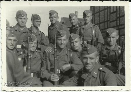 Żołnierze niemieccy Luftwaffe