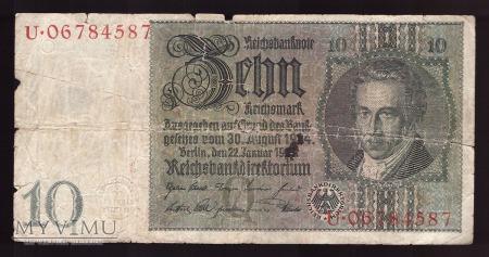 Niemcy, 10 marek 1929r Ser.U