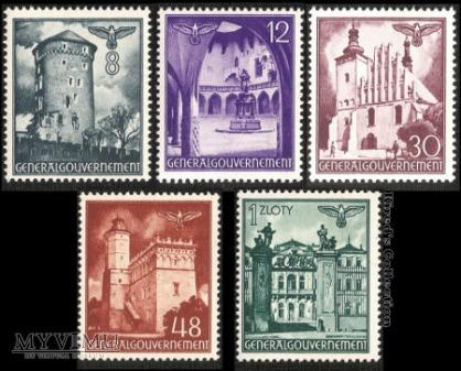 """8 września 1941r. - """"Widoki zabytkowych budowli"""""""
