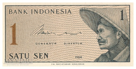 Indonezja - 1 sen (1964)