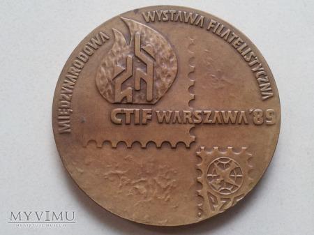 Medal CTIF WARSZAWA 1989