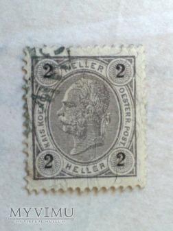 Franz Joseph 1899 2 Halerz austro-węgierski