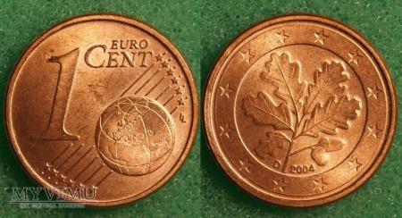 1 EURO CENT 2004 D