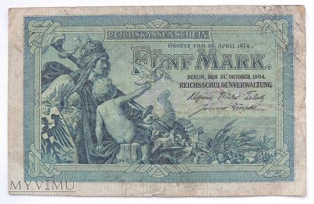 5 marek 1904