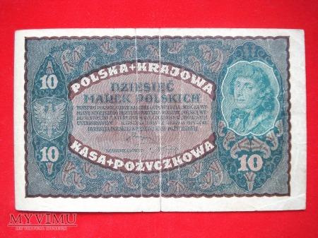 10 marek polskich 1919 rok