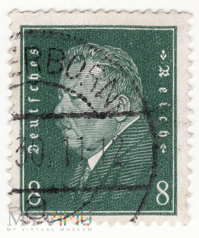 REPUBLIKA WEIMARSKA - Friedrich Ebert 1930