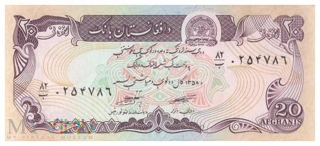 Afganistan - 20 afgani (1979)