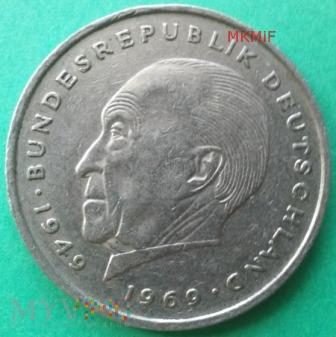 2 marki Niemcy 1971