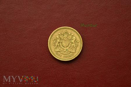 Moneta brytyjska: one pound 1983