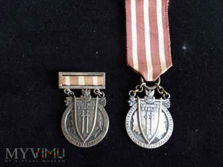 """Duże zdjęcie Medal """"Braterstwa Broni"""" - obie wersje medalu"""