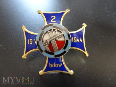 Numerowana Odznaka 2 Batalion Dowodzenia