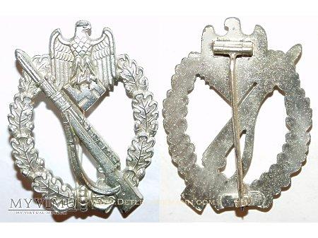 Odznaka Szturmowa Piechoty Srebrna