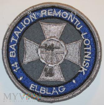 14 batalion remontu lotnisk. Elbląg.