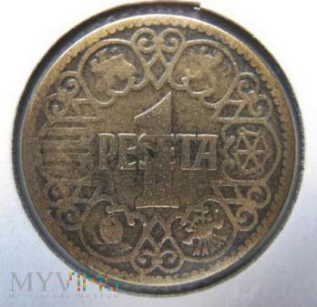 1 peseta 1944 r. Hiszpania