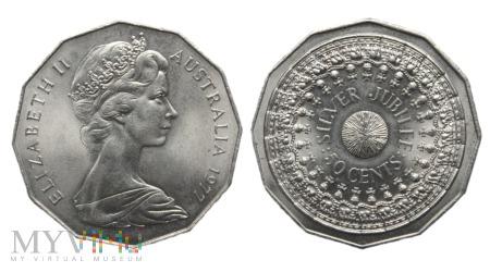 Australia, 50 centów 1977