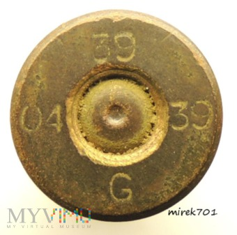 Łuska 6,5x54R Mannlicher 39 39 G 04