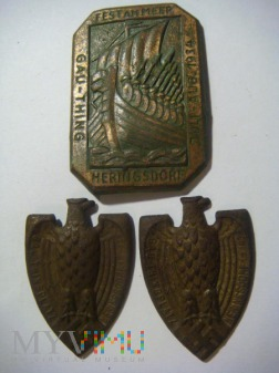 wpinki nazistowskie - Heringsdorf 1934r