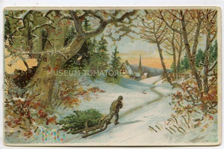 Duże zdjęcie Wesołych Świąt - 1923