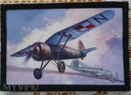 PZL P-11 C w walce.